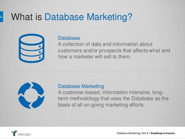 Database Marketing, part two: data enhancement, analytics, and attrib…