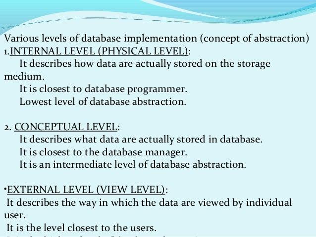 Basic DBMS ppt