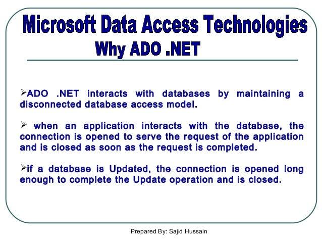 Database programming in vb net