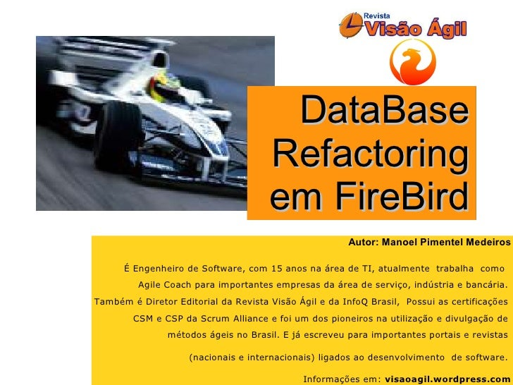 DataBase                                       Refactoring                                       em FireBird              ...