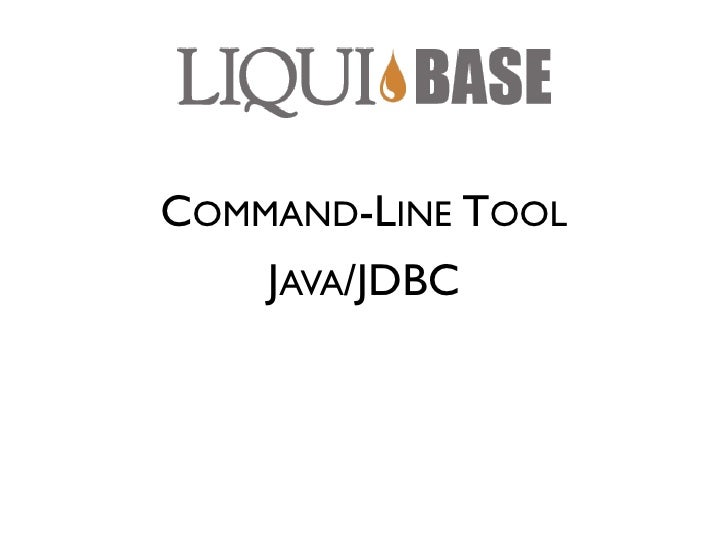 Database Refactoring With Liquibase