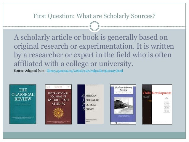 popular scholarly sources In this video, we explore the differences between popular and scholarly sources in the context of the information cycle student learning outcome(s.