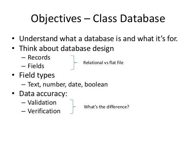 Databases 101 Slide 2