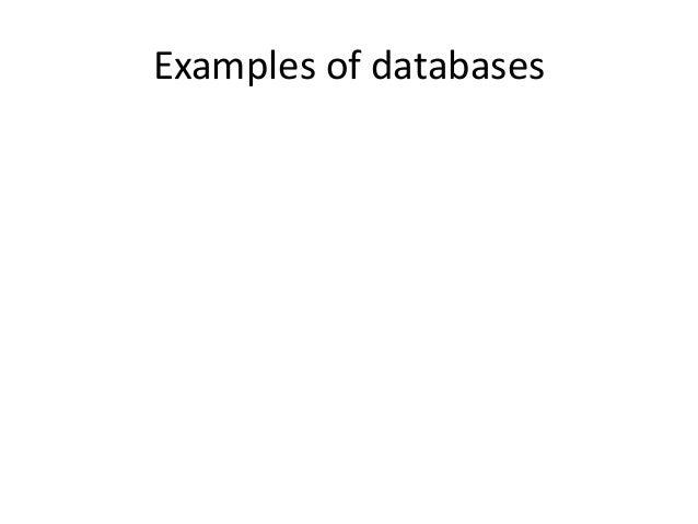 Databases 101 Slide 3