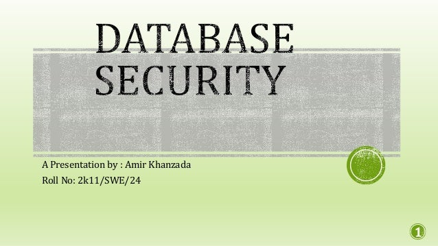 Database security and recovery ppt to pdf