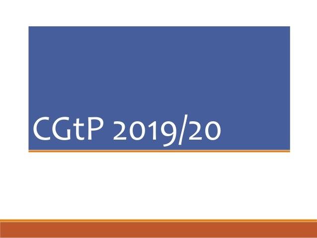 CGtP 2019/20