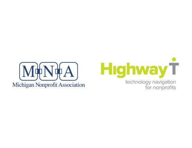technology navigation  Michigan Nonprofit Association for n on profits