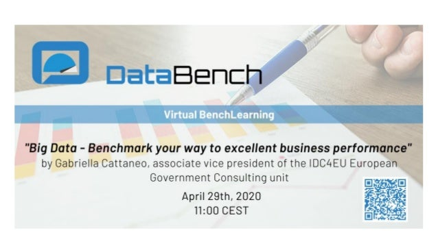About DataBench 29/04/2020 DataBench Project - GA Nr 780966 2 DataBench Outcomes DataBench Framework Including a complete ...
