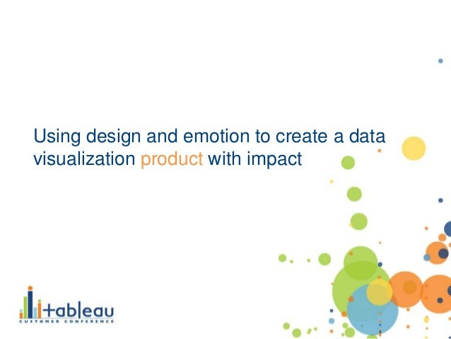 Using design and emotion to create a data visualization product with impact