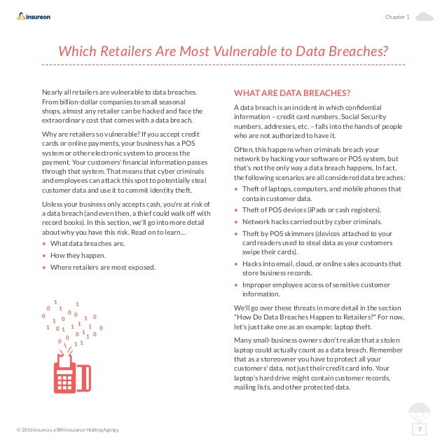 Data breaches and retail a guide for small business owners chapter 1 7 reheart Image collections
