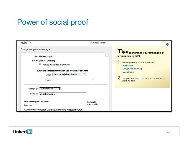 Power of social proof                        29