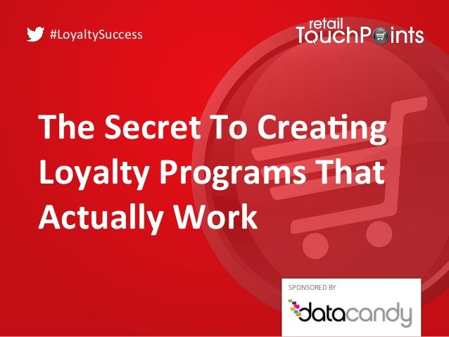 Loyalty programs actually work