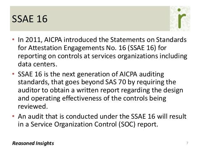 Data Center Audit Standards