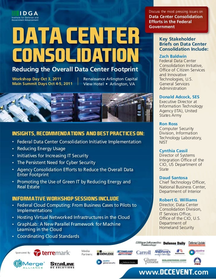 Discuss the most pressing issues on                                                                         Data Center Co...