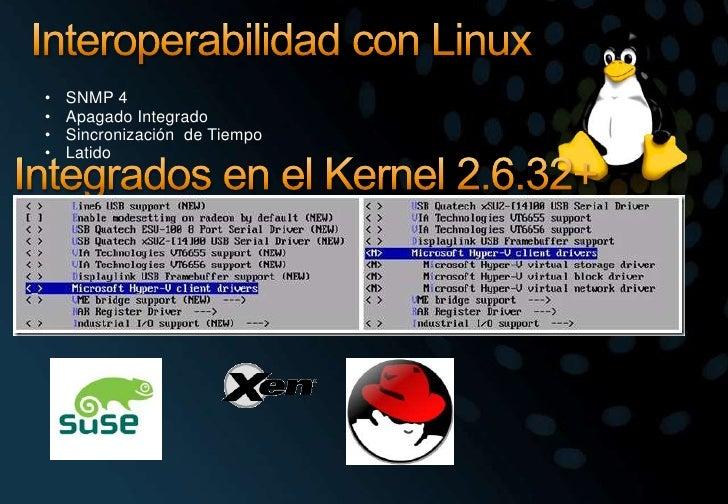 Interoperabilidad con Linux<br /><ul><li>SNMP 4
