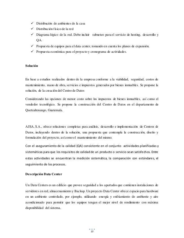 13  Distribución de ambientes de la casa  Distribución físico de la red  Diagrama lógico de la red. Debe incluir subnet...