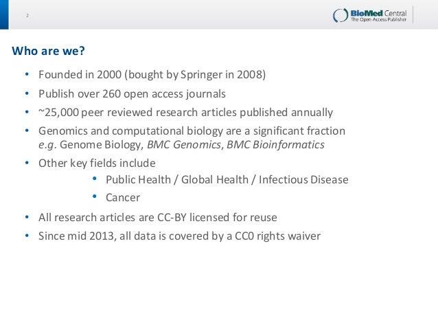 Revolutionising the Journal through Big Data Computational Research Slide 2