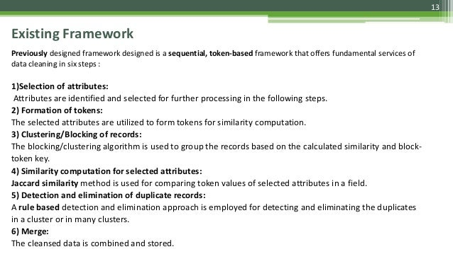 Existing Framework Previously designed framework designed is a sequential, token-based framework that offers fundamental s...