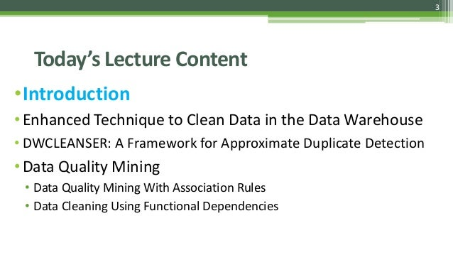 Data Cleaning Techniques Slide 3