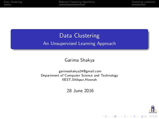 data clustering