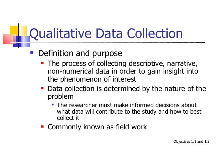 Data collection chapter 15 from the companion website for ... Qualitative Data Definition
