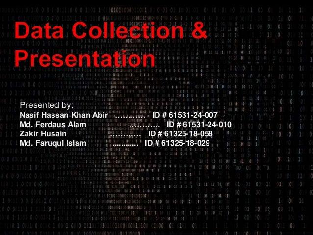 Presented by: Nasif Hassan Khan Abir ………… ID # 61531-24-007 Md. Ferdaus Alam ………… ID # 61531-24-010 Zakir Husain ………… ID #...