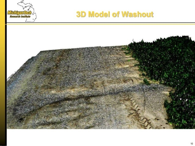3D Model of Washout 10
