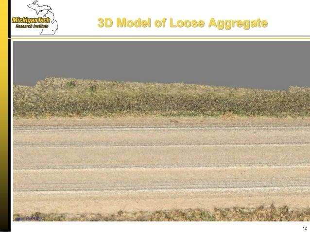 3D Model of Loose Aggregate 12