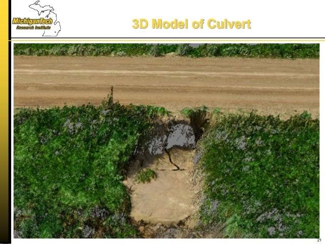 3D Model of Culvert 21