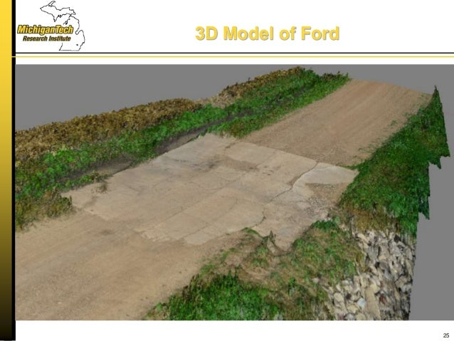 3D Model of Ford 25