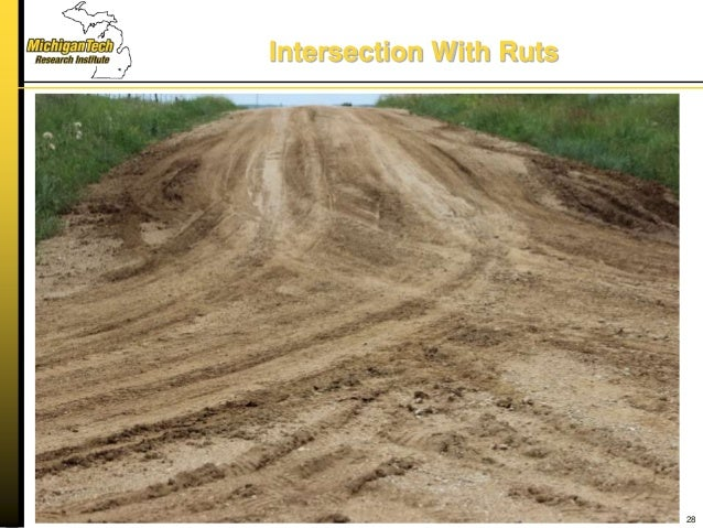 Intersection With Ruts 28