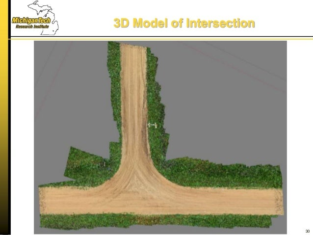 3D Model of Intersection 30