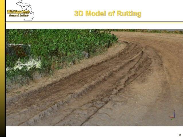 3D Model of Rutting 31