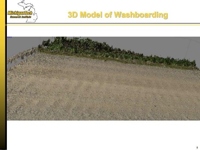 3D Model of Washboarding 8