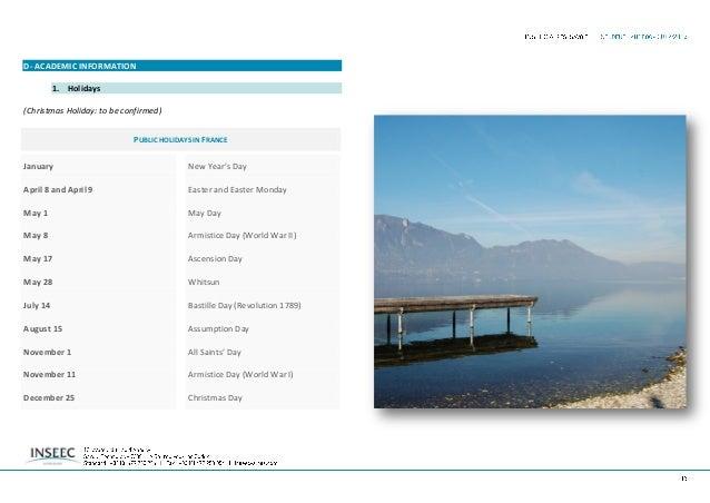 E- INSTITUTIONAL COORDINATORS 1. Identification INSEEC Alpes-Savoie Savoie Technolac - 12 avenue du Lac d'Annecy 73381 LE ...