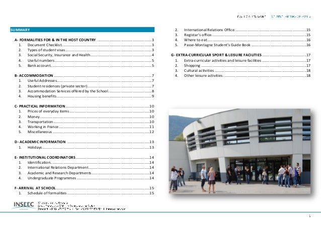 A. FORMALITIES FOR & IN THE HOST COUNTRY 1. Document Checklist Even for a short visit as a student, you will need:  Passp...