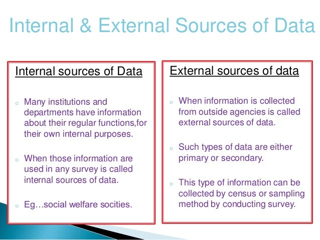 external sources of information tesco Secondary sources of information have been used to gain relevant information about motivation, its different aspects and knowledge of tesco plc and its competitors the main source of business and financial information was obtained from the annual reports of tesco uk plc, sainsbury's and other rival firms in the supermarket industry.