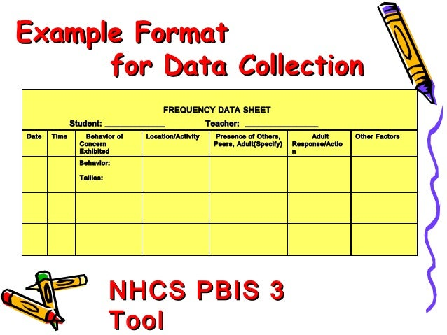 Data collection resource