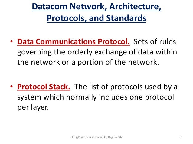 list of communication protocols pdf