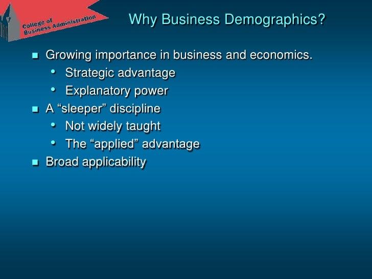 Business Demographics<br />