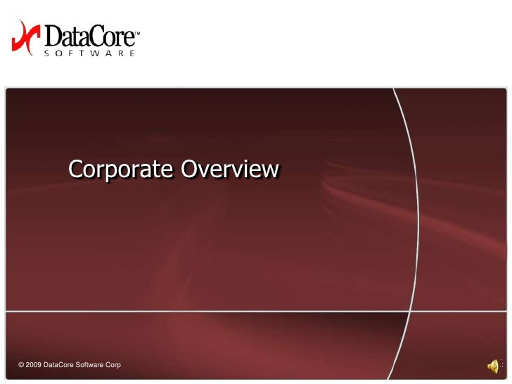 Corporate Overview<br />