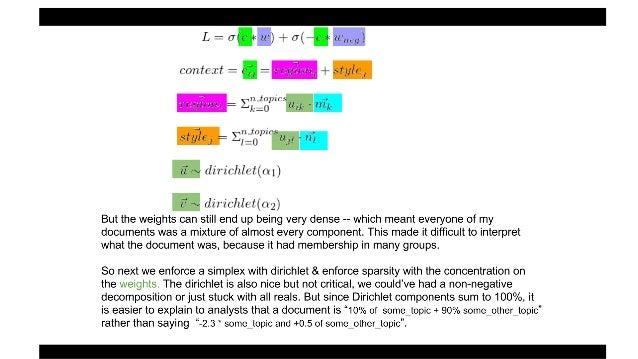 word2vec, LDA, and introducing a new hybrid algorithm: lda2vec