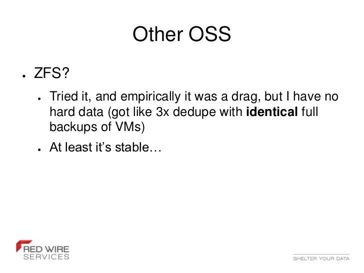 Open source data deduplication lessfs 25 spiritdancerdesigns Image collections