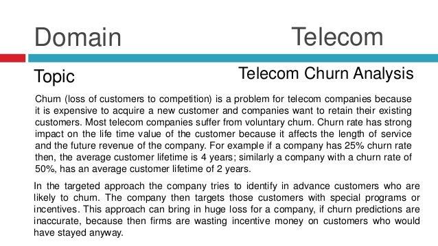 Telecom Churn Analysis