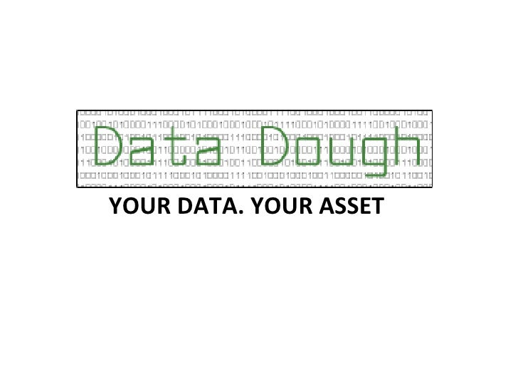 YOUR DATA. YOUR ASSET