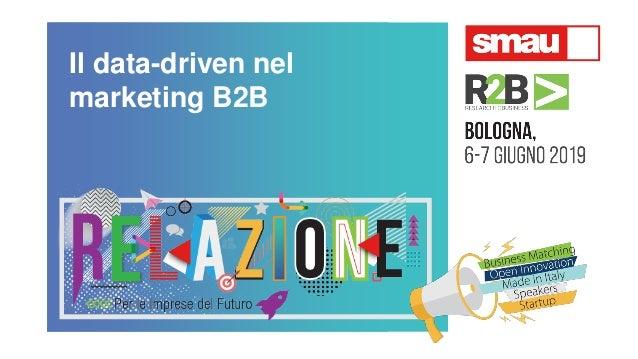 Il data-driven nel marketing B2B