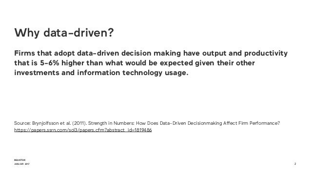 Data-driven leadership culture Slide 2