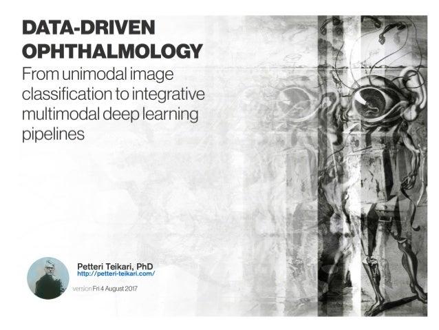 Data-driven Ophthalmology