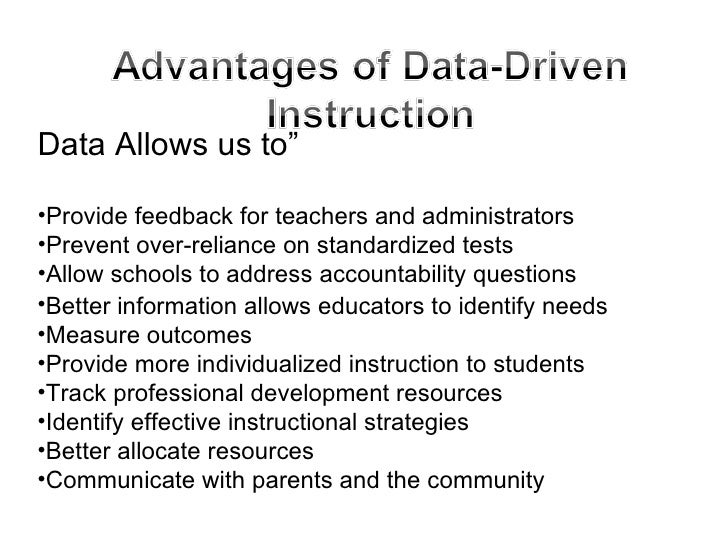 advantages of individualized instruction