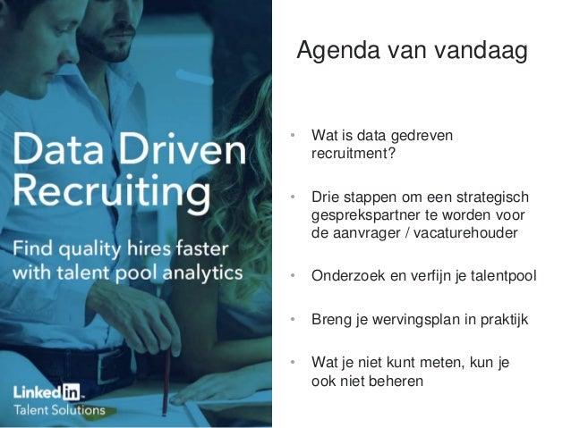 Datagedreven recruitment voor werving- en selectiebureaus: Van data naar talent in 3 eenvoudige stappen Slide 2